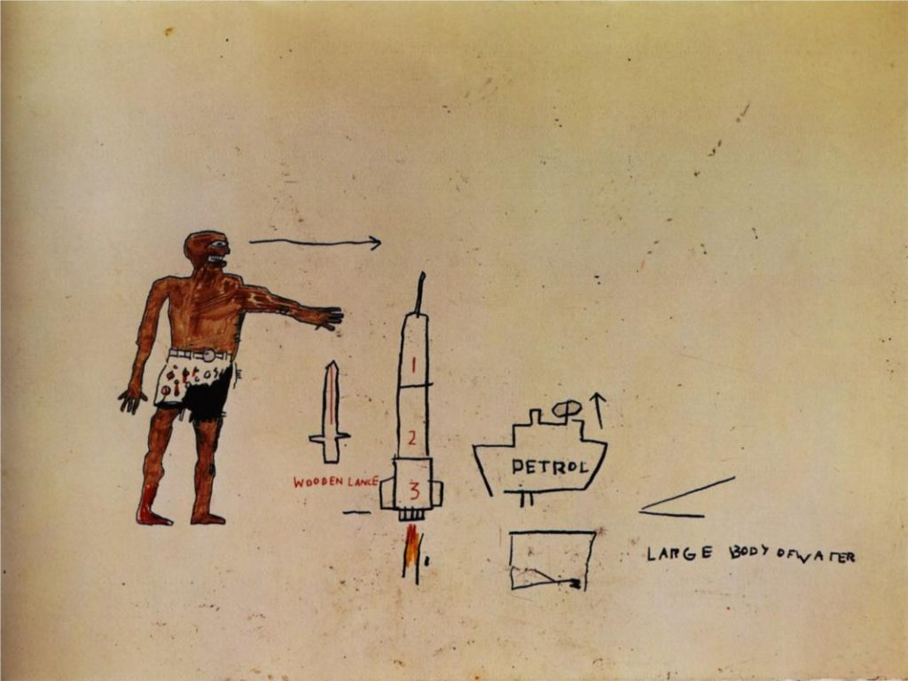 Large Body of Water, 1983, Jean-Michel Basquiat