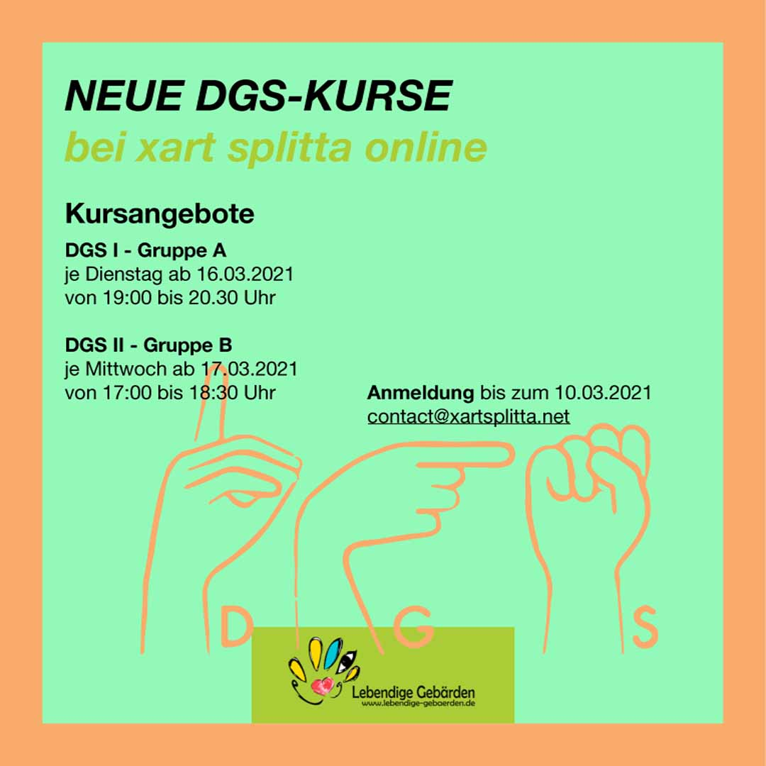 Infografik DGS Kurse Frühling 2021